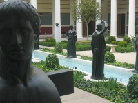 Getty Villa inner courtyard