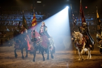 Medieval Times - the king arrives
