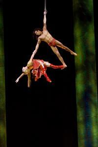 Cirque Du Soleil - KA - Forest Duet - Photo by Jerry Metellus