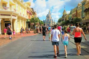 Disney World - Magic Kingdom - (publicDomainPictures)