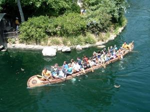 Disneyland Davy Crockett Explorer Canoes - by SolarSurfer - Wikipedia