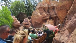 Disneyland - Big Thunder Mountain ride