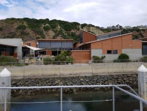 Ocean Institute - Dana Point - view from the channel