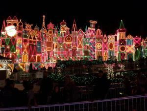 Disneyland - holiday celebrations - It's a Small World