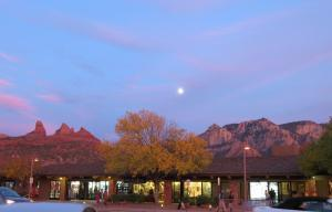 Sedona Dining - Airport Mesa Grill at Dusk