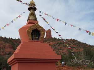 Sedona - Buddhist Amitabha Stupa - Vortex Tour