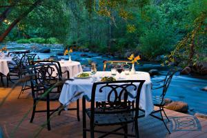 Sedona Dining - Cress Oak Creek - L'Auberge