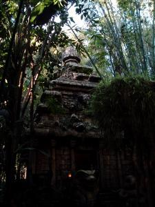 Disneyland  - Indian Jones - Temple of Doom