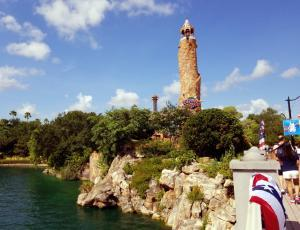 Universal Islands of adventure - Entrance