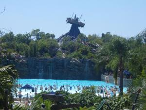Disney World - Typhoon Lagoon and Mount Mayday - Surf Pool - Wikipedia by JZ85