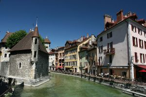 Annecy France Palais de l'Isle by Yves LC Wikipedia