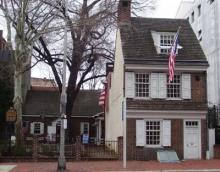 Philly - Betsy Ross House from Wikipedia By Beyond My Ken