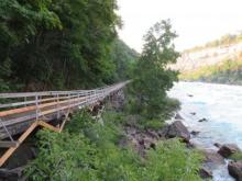 Niagara Falls Canada - Whitewater Walk