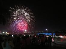 Niagara Falls Canada - Fireworks