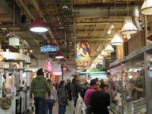 Philadelphia  Reading Terminal Market - Peal's Oster Bar