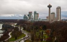 Niagara Falls Canada - The American fallsSkyline