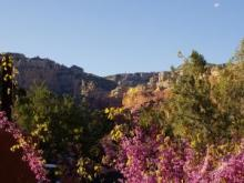 Sedona - view from Tii Gavin restaurant - Enchantment Resort