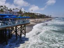 San Clemente - Fishermen's Restaurant and Bar - on the Pier