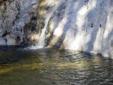 Switzer Falls California - at the pool2