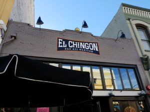 San Diego Gaslamp Quarter - El Chingon