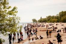 Toronto Islands beach - from Wikipedia