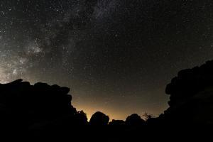 Joshua Tree NP - Stars - from Wikimedia - by Christopher Michael