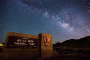 Joshua Tree National Park - Night Sky - by Lian Law
