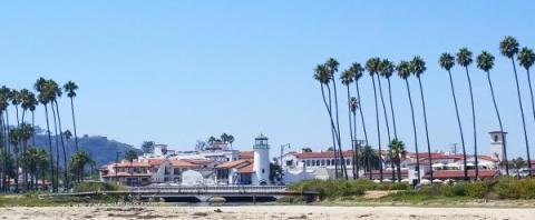 Santa Barbara - from the beach