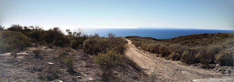 Crystal Cove hiking trails